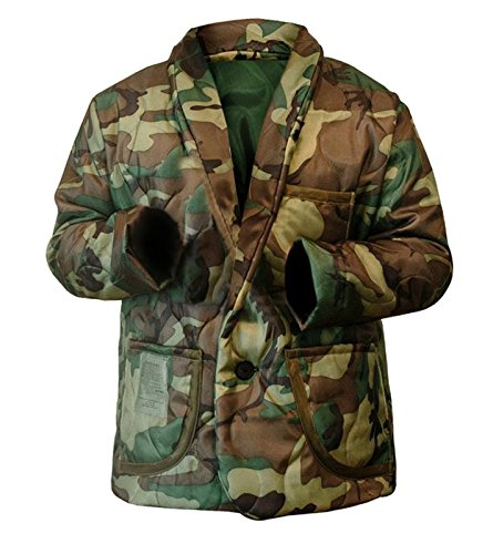NM Fashions Men's Woobie Smooking Line Camouflage Style Cotton Jacket