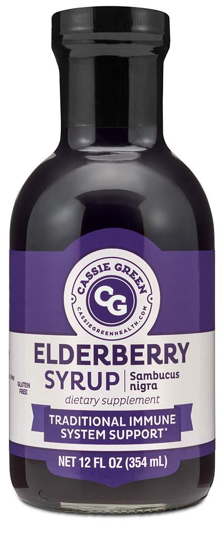Elderberry Syrup (12 oz)
