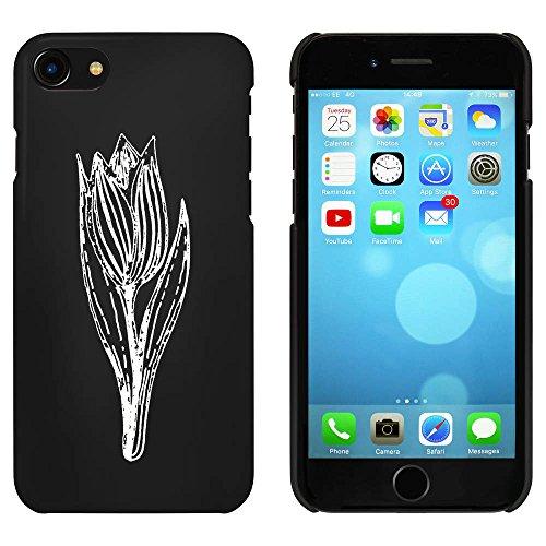 Noir 'Tulipe' étui / housse pour iPhone 7 (MC00065111)