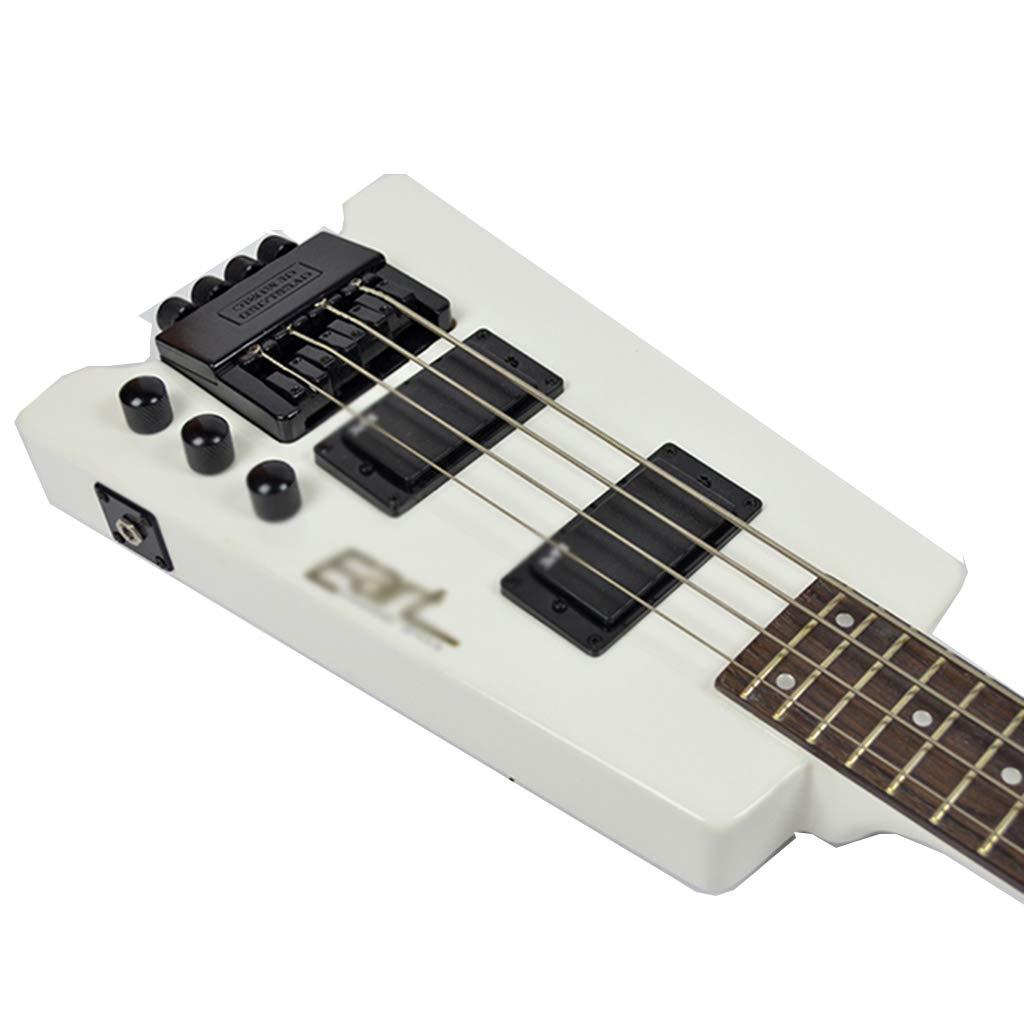 ZJJXD - Guitarra eléctrica Baja sin Cabeza, Panel de ELM, botón ...