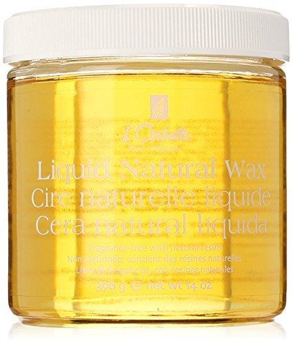 L Orbette LO-2100 Wax-Liquid Natural Wax, Glass 14oz by L'orbette by L'orbette