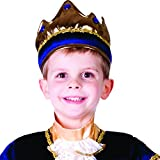 Kids Shiny Exquisite King Crown By Dress Up America