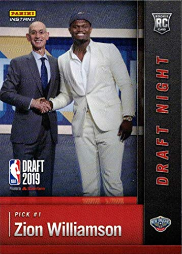 2020 Panini - 2019-20 Panini Instant Basketball #DN-ZW Zion Williamson Rookie Card - 1st Official Rookie Card