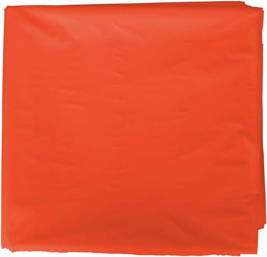 Fixo Kids 72252. Bolsas de disfraces. Paquete de 25 bolsas color naranja de 56x70cm.