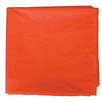 Bolsa plástico disfraz. Paquete de 25 bolsas color naranja de 56 x 70 cm. Fixo Kids. Ref: 72252