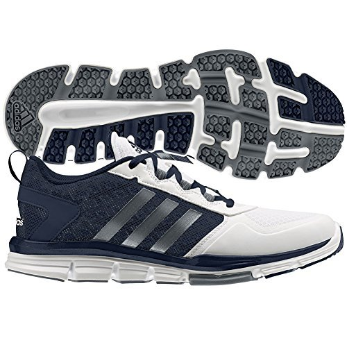 adidas Performance Men's Speed 2 Cross-Trainer Shoe, Collegiate Navy/Carbon Met. White, 10.5 M US (Air Flex Trainer Ii compare prices)