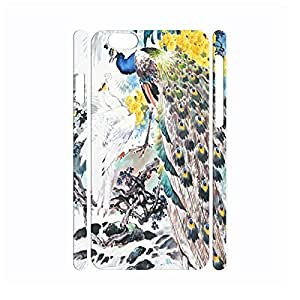 Pop Utility Vintage Peacock Anti Shock Hard Plastic Cover Skin For Iphone 5/5S Case Cover