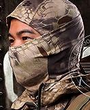 Acid Tactical® Highlander Camouflage Balaclava Full Face mask Ninja hood Millitary Camo