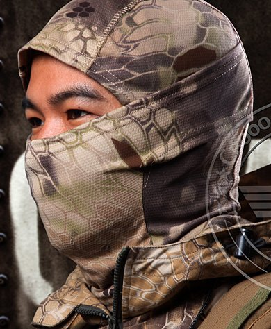 Acid Tactical® Highlander Camouflage Balaclava Full Face mask Ninja hood Millitary Camo by Funpowerland