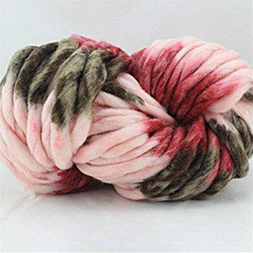 Handmade Cashmere Yarn, Super Soft Roving Knitting Crochet Big Baby Yarn