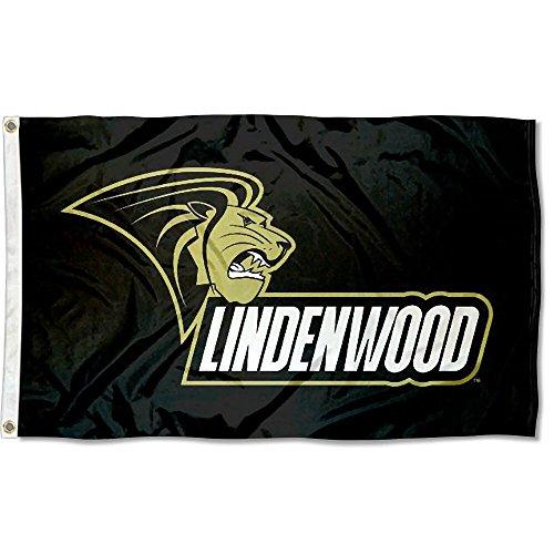 Lindenwood Lions College Flag