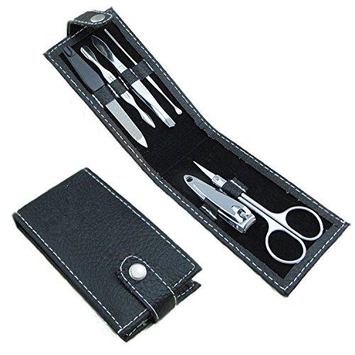 Cregler ™ Маникюр Педикюр Красота и уход Set 6 шт - карманного размера - идеально подходит для путешествий или для подарка.
