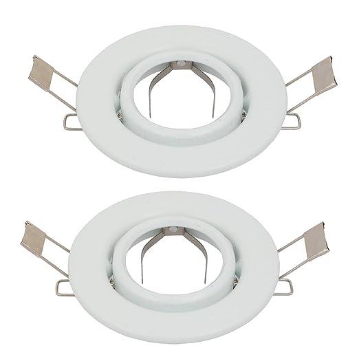 Sourcingmap 0222L MR16 GU11 2 Pics - Soporte para lámpara de ...