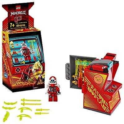 LEGO NINJAGO Kai Avatar - Arcade Pod 71714 Mini Arcade Machine Building Kit, New 2020 (49 Pieces): Toys & Games