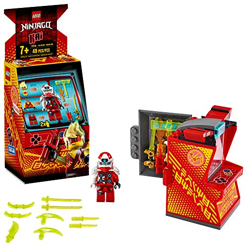 LEGO NINJAGO Kai Avatar - Arcade Pod 71714 Mini Arcade Machine Building Kit, New 2020 (49 Pieces)