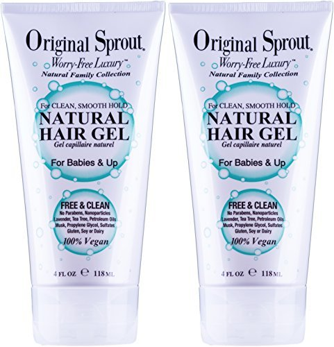 Original Sprout Natural Hair Gel, 4 ounces. (Set of 2) (Best Definition Of Success)