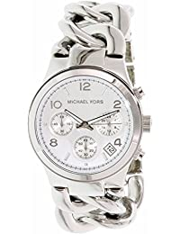 Michael Kors Women's Runway Twist MK3149 Silver Stainless-Steel Quartz Watch