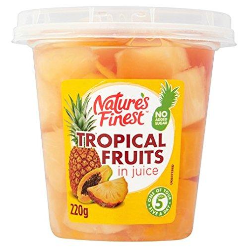 220g Ensalada de fruta tropical más fino de la naturaleza: Amazon.es: Alimentación y bebidas