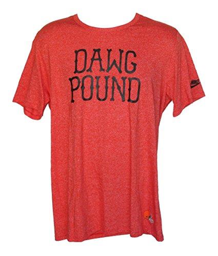 Cleveland Browns Men's Size X-Large DAWG POUND Short Sleeve Shirt (Cleveland Dawg Pound)