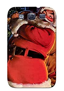 Freshmilk Design High Quality Christmas Cover Case With Ellent Style For Galaxy S3(nice Gift For Christmas)