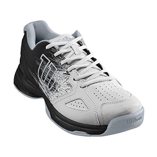 Blanco White Stroke White Black de Black Tenis Hombre Kaos Black Black para Wilson Zapatillas 4qxW0f66