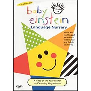 Amazon.com: Baby Einstein: Language Nursery DVD: Baby ...