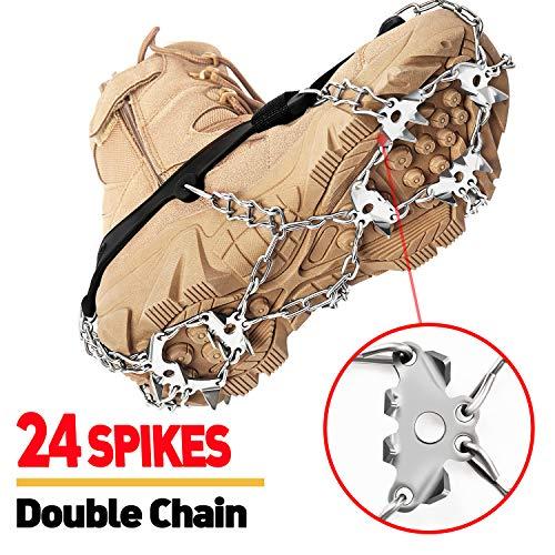 EnergeticSky 24 Spikes Crampons