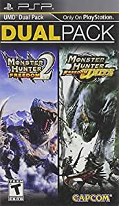 Monster Hunter Freedom 2 and Freedom Unite Dual Pack PSP - PlayStation Portable by Capcom: Amazon.es: Videojuegos