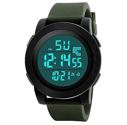 Relojes de hombre, ICHQ para hombre, relojes deportivos digitales de