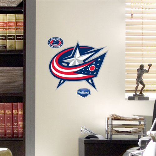 NHL Columbus Blue Jackets Fathead Logo - Nhl Wall