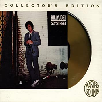 Billy Joel 52nd Street Back Cover