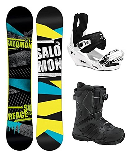 Salomon Surface All Mountain Complete Snowboard Package