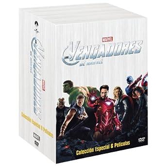 Los Vengadores: Colección 6 películas [DVD]: Amazon.es: Samuel L ...