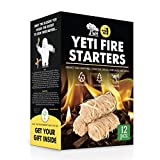 WOODHOT FIRE Starters Natural Tumbleweeds   12 pcs   - YETI Wood fire Starter for Fireplace, Campfire, Wood Stove, fire Pit, Charcoal Grill, Barbecue Smoker, BBQ