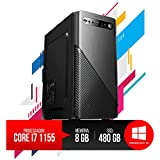 Super PC Intel Core i7, 8GB RAM DDR3, HD SSD 480GB Novo com 01 ano de garantia!