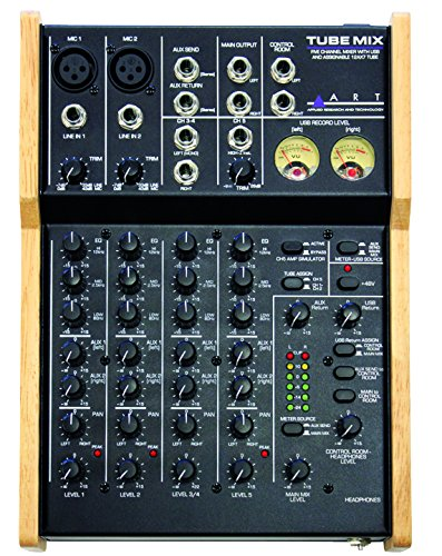 ART TubeMix 5-ch Mixer w/USB and Assignable ()