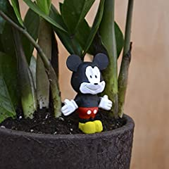 Disney's Mickey Mouse wood figurine dressed to the nines in top hat and tails, appears a real gentleman. Figurine captures Mickey Mouse taking on a new adventure, finding himself in any situation The Best gift for fellow or to someone who is ...