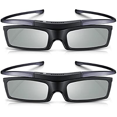 Branded New 2 x Samsung SSG-5150GB for D,E, ES, F Series TV Active 3D Glasses