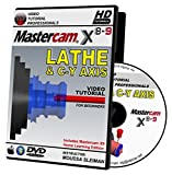 Mastercam X8-X9 LATHE & C-Y AXIS Video Tutorial HD DVD