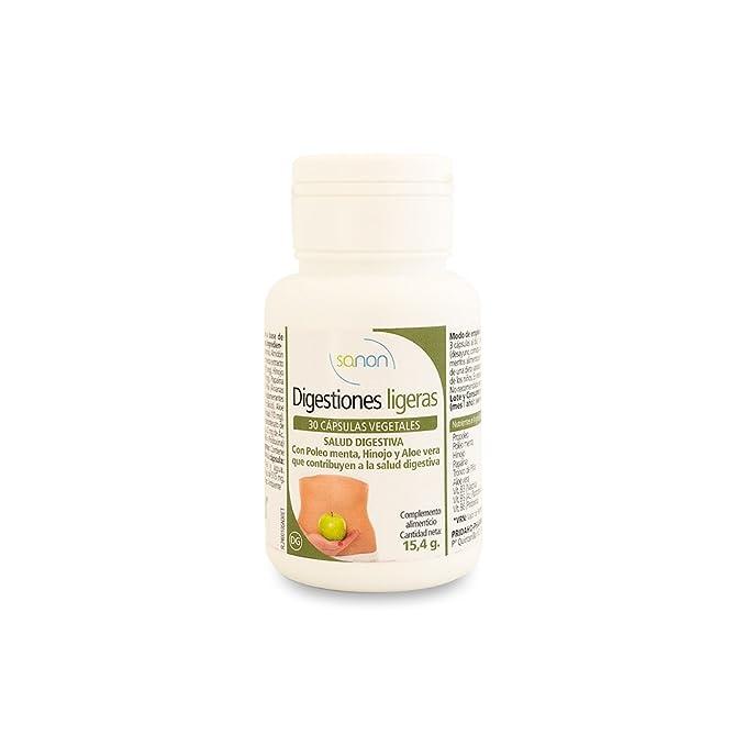 SANON - SANON Digestiones Ligeras 30 cápsulas de 515 mg ...