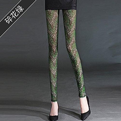 GaoXiao tissus à point de gaze, slips, les pantalons, neuf paires de pantalons, de sécurité pantalon et lumière preuve pantalon,s - green
