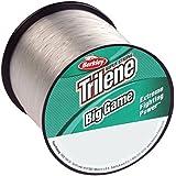 "Berkley Trilene Big Game Monofilament Line Spool 1500 Yards, 0.012"" Diameter, 10 Lb Breaking Strength, Clear"