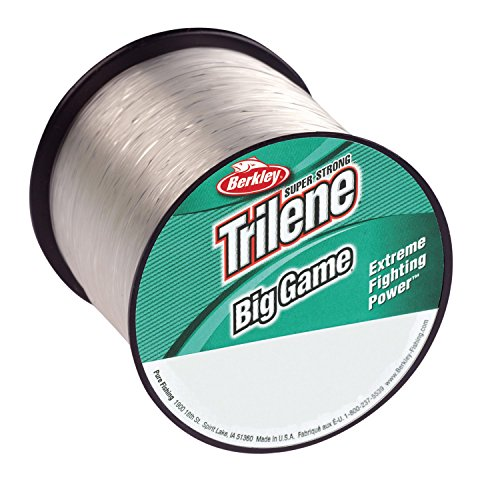 - Berkley Trilene Big Game Monofilament Line Spool 1500 Yards, 0.012