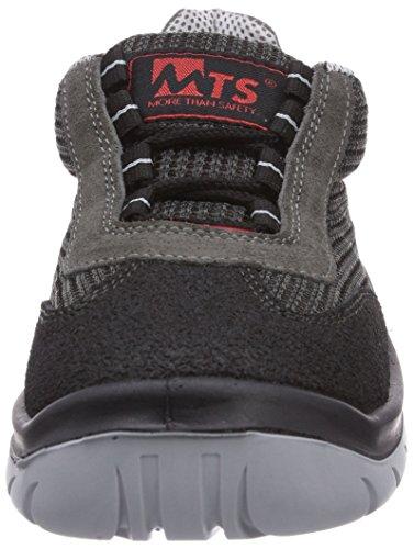 MTS Sicherheitsschuhe Airmax S1 7805 - Zapatos De Seguridad de piel Unisex adulto grigio (Anthrazit/Schwarz)