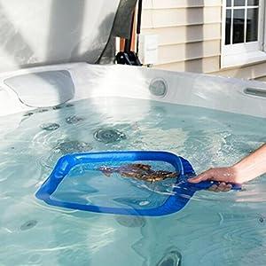 Pool Net ,Professional Mesh Pool Skimmer Fine Catcher Bag Rake Spa Tool (5542 cm)