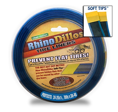 RhinoDillos BLUE Bicycle Tire Liners (26/24