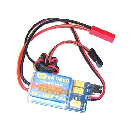 amazon com 5a ubec max 7 5a universal battery eliminator circuit 5v rh amazon com