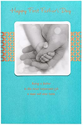 Amazon american greetings important job first fathers day amazon american greetings important job first fathers day card with foil office products m4hsunfo