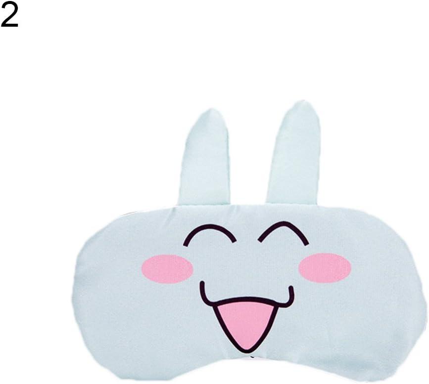 Guoainn Convenient And Practical Cartoon Ice Bag Hot Pack Eyeshade Sleeping Eye Mask Eyepatch Relax Eyes Cover