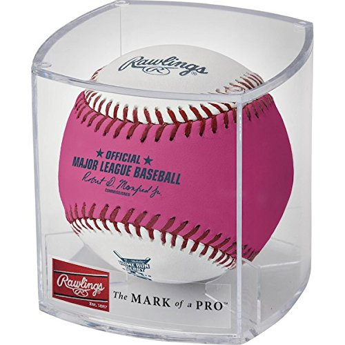 Mlb Home Runs - Rawlings 2017 MLB Home Run Derby Pink Moneyball Baseball Miami Marlins - Cubed